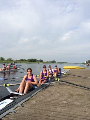 Women's 4 at BUCS 2014