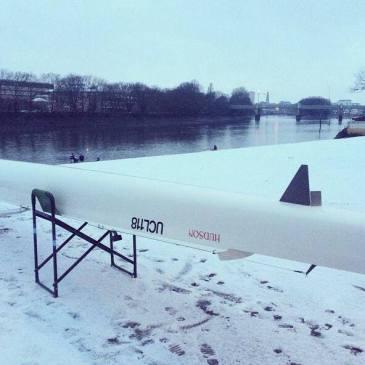 Winter training on the Tideway