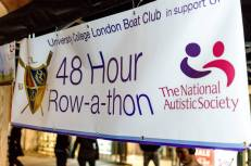 48-hour Rowathon in Covent Garden