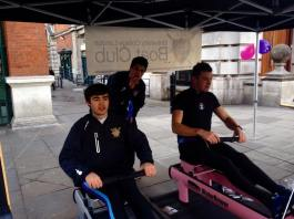 48-hour Rowathon in Covent Garden