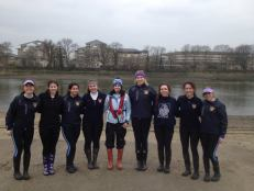 UCL Women's 3rd 8+ at WeHORR