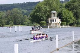 UCL 1st 8+ women's at Henley Women's Regatta