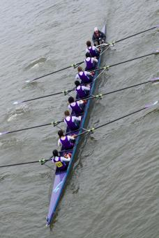 Novice Women's VIII+ at WeHoRR, 2016