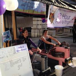 Covent Garden 48-hour Rowathon in aid of the National Autistic Society