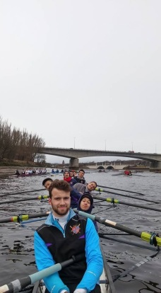 Novice Men win Bronze Medal at BUCS Head, 2016