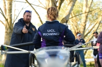 Director of Rowing, Jamie Smith, Coaching at Portugal Training Camp 2016