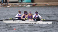 Senior Women's 4+ place 2nd at BUCS Regatta Time Trail