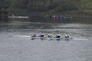 Senior women's 4 winning Nov 4+