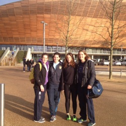 At the Velodrome!
