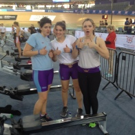 Psyched for the Grand Final of British Indoor Rowing Championships