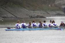 UCL Novice Women's 8+ at UH Head