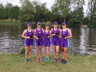Winners of WIm1 4+ at Reading Regatta (Sun)