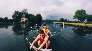 UCLBC 1st VIII at Henley Training Camp