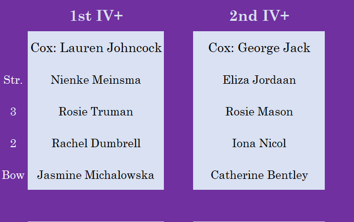Senior Women's IVs