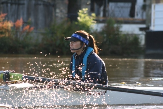 Coxing at UCLBC