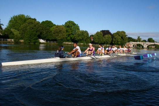 Training Sessions on the Tideway