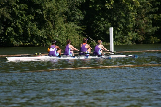 Senior Women's 4- at HWR 2018